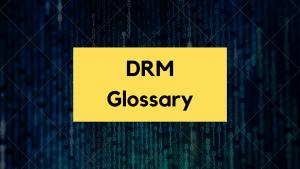 Glossary of DRM Terminologies