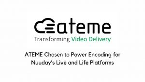 ATEME Chosen to Power Encoding for Nuuday's Live and File Platforms