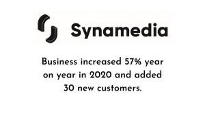 Synamedia's Video Network Business Accelerates to 57% Growth in 2020