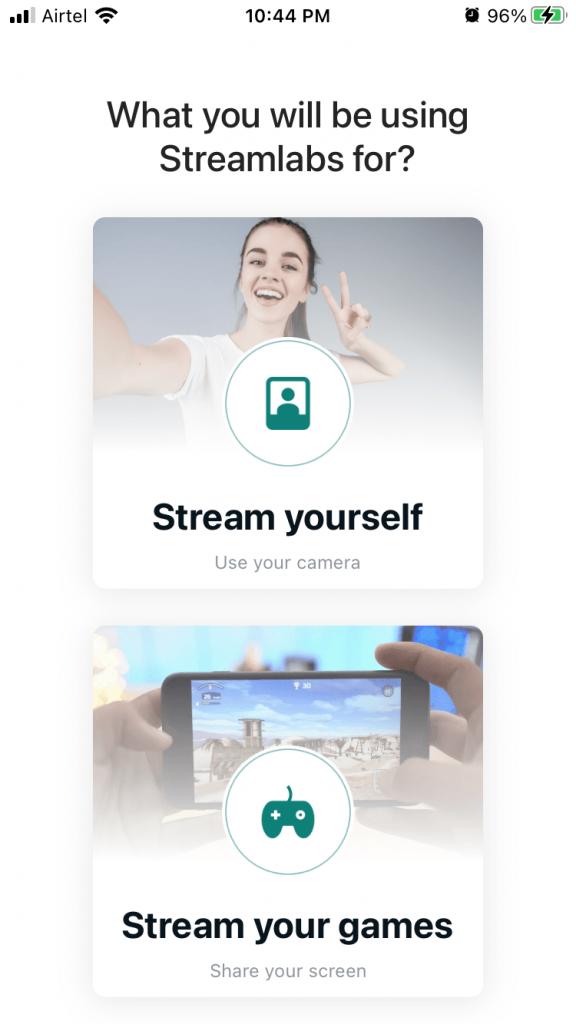 streamlabs options