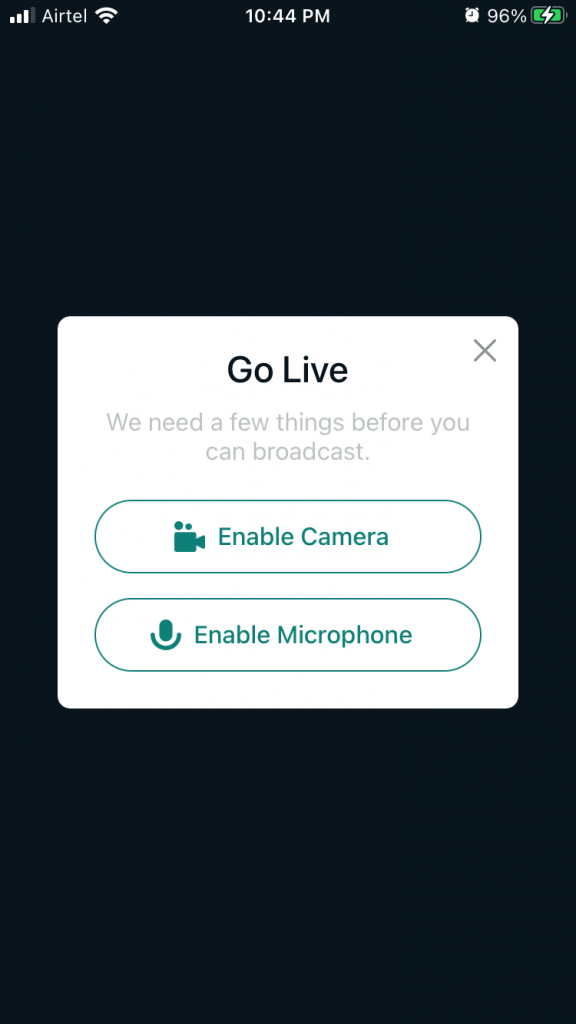 Streamlabs Give permissions