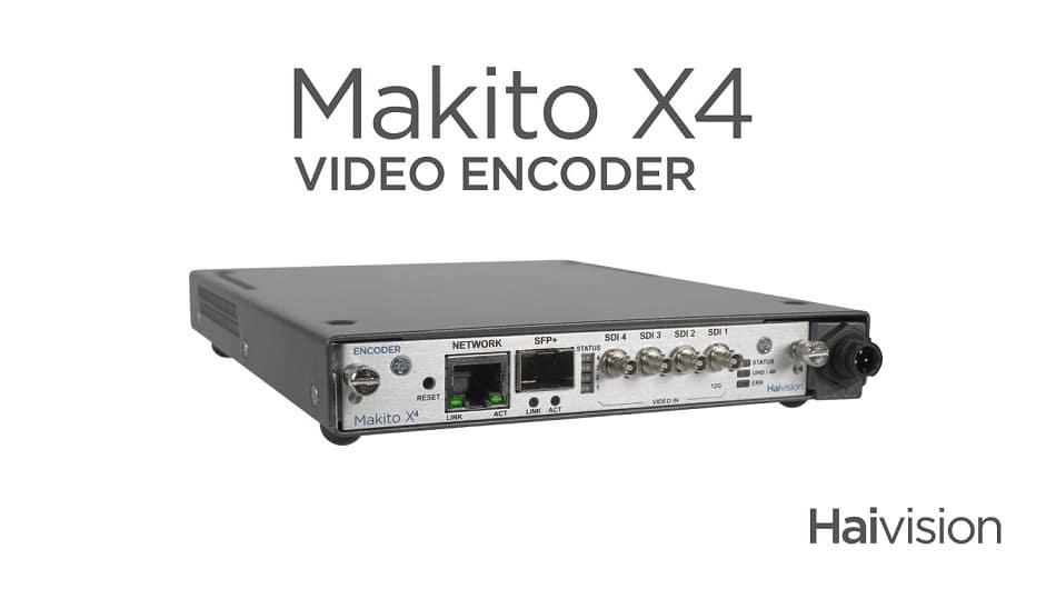 Haivision Makita v4 Encoder