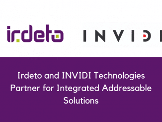 Irdeto and INVIDI Technologies Partner for Integrated Addressable Solutions
