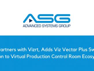 ASG Partners with Vizrt, Adds Viz Vectar Plus Switcher Option