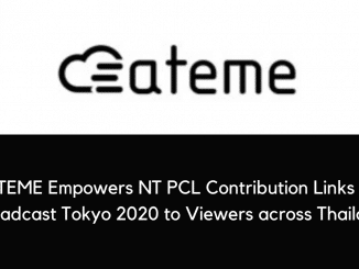 ATEME Empowers NT PCL Contribution Links to Broadcast Tokyo 2020