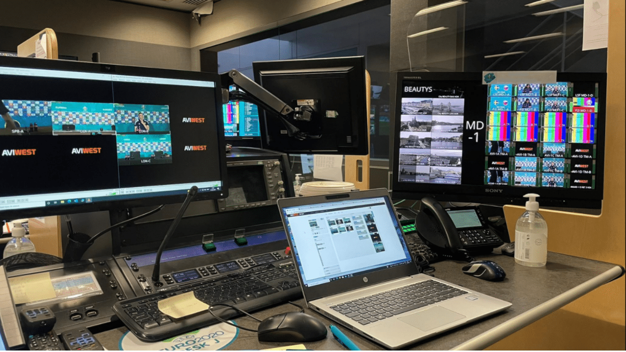 AVIWEST Solutions enabled UEFA's host broadcast team to securely provide live high-quality feeds during UEFA Euro 2020 tournament over aggregated cellular networks.