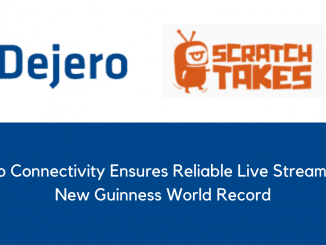 Dejero Connectivity Ensures Reliable Live Streaming of New Guinness World Record
