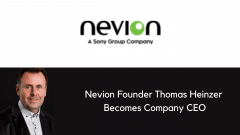 Nevion founder Thomas Heinzer becomes the company's CEO