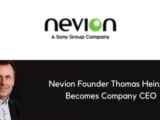 Nevion Founder Thomas Heinzer Becomes Company CEO
