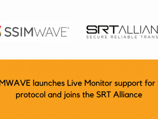SSIMWAVE launches Live Monitor support joins the SRT Alliance