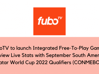fuboTV to Launch Integrated Free-To-Play Games, FanView Live Stats Feature