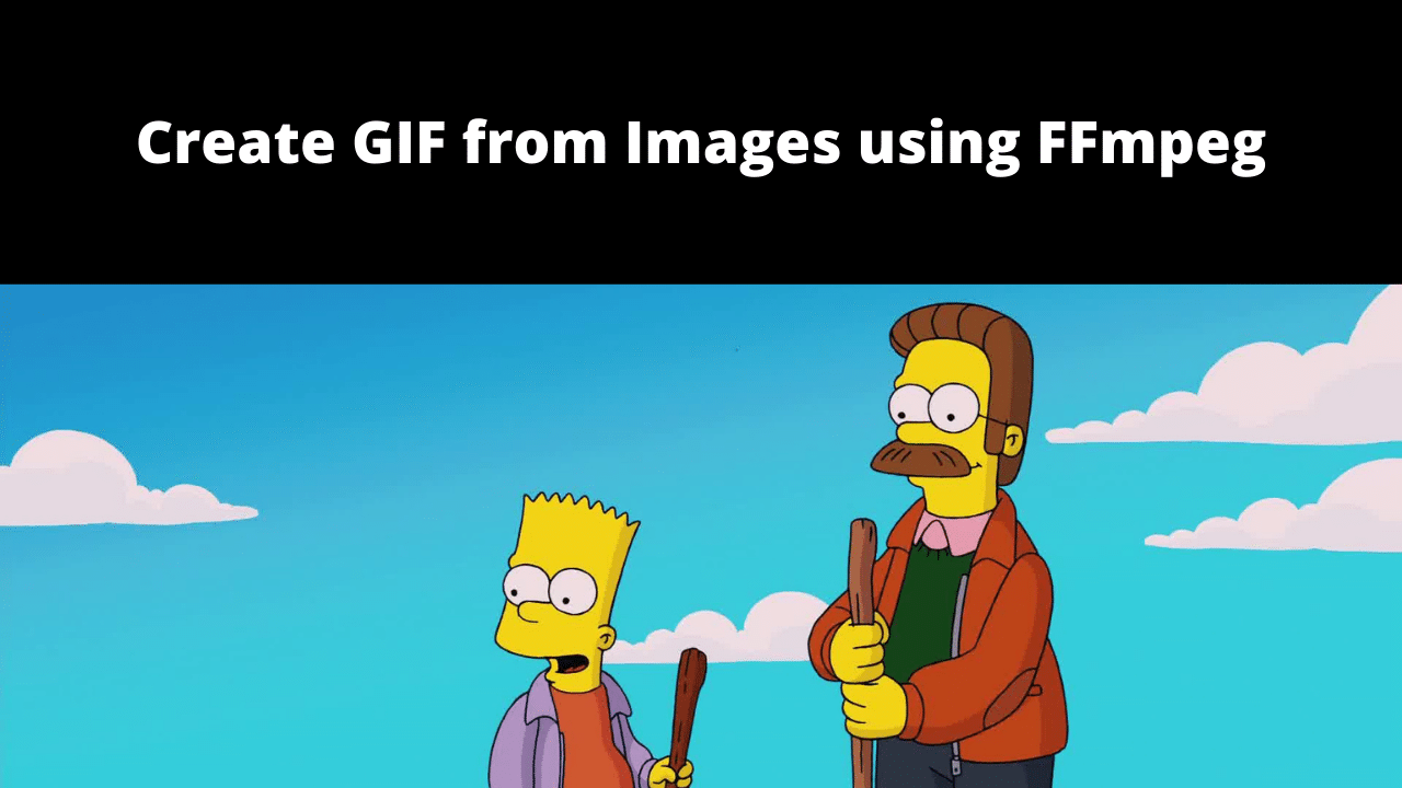How to Create a GIF from Images using FFmpeg?