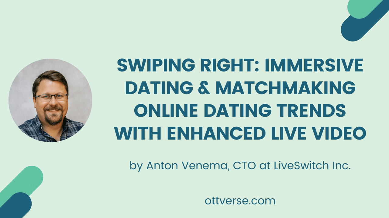 Swiping Right: Immersive Dating & Matchmaking Online Dating Trends with Enhanced Live Video