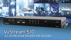 VuWall Releases New VuStream 510 All-in-One SDVoE Encoder/Decoder