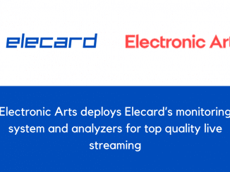 Electronic Arts deploys Elecard's monitoring system