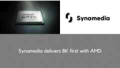 Synamedia delivers industry first 'zero compromise' 8K encoding & streaming technology, powering fully optimized, high quality 8K video, with AMD EPYC™ processors