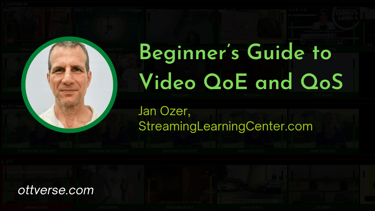 Beginner's Guide to Video QoE and QoS