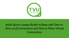 Adult Sports League Builds its Base with One-to-One Local Connections and One-to-Many Virtual Connections