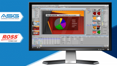 ASG Partners With Ross Video For Real-Time Graphics Creation Within Virtual Production Control Room
